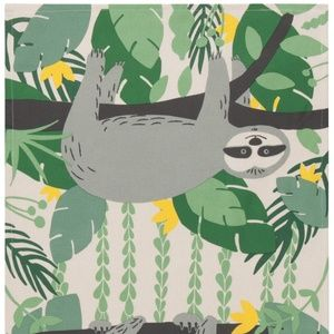 Now Designs Sybil Sloth Tea Towel NWT